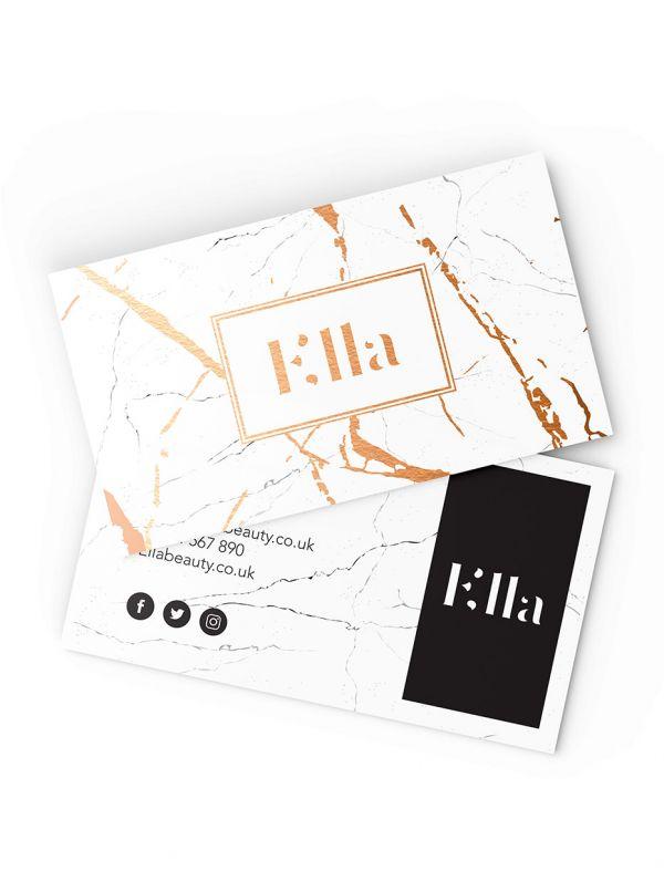 Metallic Foil Business Card Printing